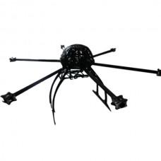 MK KK Multi-rotor Hexcopter Folding Frame 715mm Wheelbase with Tall Landing Skid