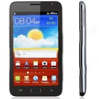 Star N7000 Android 4.0 MTK6573 WCDMA Smartphone 5 inch Capacitive Screen GPS Black/White