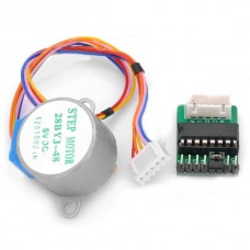 DC 5V 4-Phase 5-Wire Step Motor with ULN2003 Driver Board Module