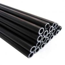 5-Pack 12x10mm Fiberglass Glass Fiber Round Tube 1000mm Length for DIY