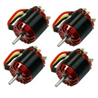 4pcs EMP Series N3536/05 Outrunner Brushless Motor 1400Kv for RC Aircraft