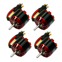 4pcs EMP Series N3530/13 Outrunner Brushless Motor 2808 1100Kv for RC Aircraft