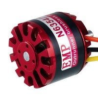 EMP Series N6364/09 High Efficiency 230KV 4-10S Outrunner Brushless Motor for RC