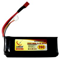 2pcs 1500mAh 11.1V 20C 3S Lithium Battery Pack for RC Airplanes