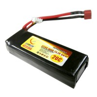 2200mAh 11.1V 20C 3S Lithium Battery Pack for RC Airplanes