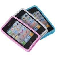 1x Vintage 3D Abacus Silicone Case Cover Skin 4 Iphone 4S 4 4G 4S 3 Colours