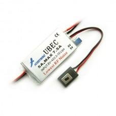 Hobbywing 5A Max 7.5A High Voltage (HV) Switch UBEC Input 8-42V HW-5A-HV