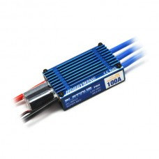 Hobbywing Platinum 100A Pro ESC w/ 5.25V/6V BEC for RC Aircraft EDF Jets Helicopter 6S