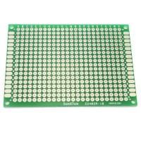 5cm x 7cm Double-sided Solderable Prototype PCB Board Breadboard 5pcs