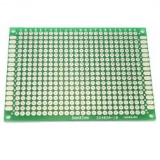 5cm x 7cm Double-sided Solderable Prototype PCB Board Breadboard 5pcs