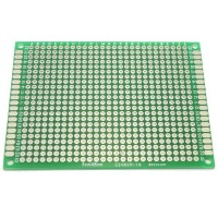 6cm x 8cm Double-sided Solderable Prototype PCB Board Breadboard 5pcs