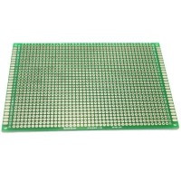 8cm x 12cm Double-sided Solderable Prototype PCB Board Breadboard 5pcs