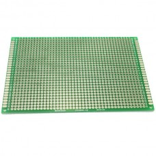 8cm x 12cm Double-sided Solderable Prototype PCB Board Breadboard 5pcs