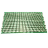 9cm x 15cm Double-sided Solderable Prototype PCB Board Breadboard 5pcs