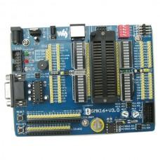 STK16+ MCU AVR Mega16 Mega16A ATmega16 IC Development Board+LCD1602+Keypad