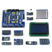 OpenM128-B ATmega128A-AU ATmega128 AVR Evaluation Development Board + 11 Modules