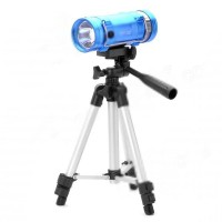 ZY-3309 7200mAh Blue/Yellow Light 5W LED Source Fishing Light with Tripod Stand