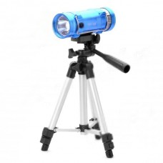 ZY-3309 7200mAh Blue/Yellow Light 5W LED Source Fishing Light with Tripod Stand
