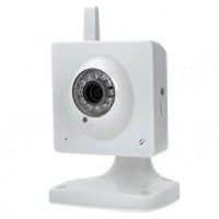SDV051 720P CMOS Surveillance Security IP Network Camera 12-IR LEDs Support 32GB TF