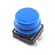 Tactile Switch Push Button Projected Plunger Type without Ground Terminal 10pcs