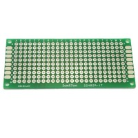 3cm x 7cm Double-sided Solderable Prototype PCB Board Breadboard