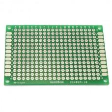 4cm x 6cm Double-sided Solderable Prototype PCB Board Breadboard 5pcs