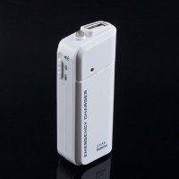 Emergency USB Battery Charger 2x AA with Flashlight for iPhone 4G 3G 3GS 4S iPod