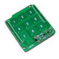 LinkSprite Touch Shield 3x3 Keyboard for Arduino