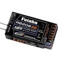 Futaba R6208SB 8-Ch 2.4GHz FASST Hi-Voltage Rx Receiver S-Bus Set