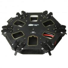 Arm Mounting Bracket+Support Pillar+Top &Bottom Board Center Frame Kit for DJI S800