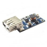 USB DC 3~4.4V to DC 5.5V Voltage Step Up Boost Module - Blue