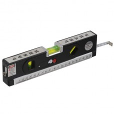 LV-04 Laser Level with Tape Measure Pro 4 (100cm) Level Bubbles with LED Light