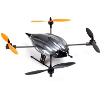 Walkera Hoten-X 6-Axis Gyro UFO BNF Quadcopter FPV Aircraft with DEVO 8S Transmitter