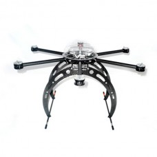 Droidworx AD6-HLE Hexacopter Aircraft Frame Heavy Lift Extended V3 FPV Multi-rotor
