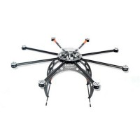 Droidworx AD8-HLE OctaCopter 8-Rotor Aircraft Frame Heavy Lift Extended V3 FPV Multi-rotor