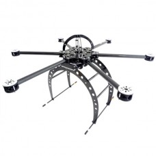 Droidworx SkyJib 6 Carbon Fiber Hexacopter Hex Multicopter Aircraft for FPV Aerial Photography