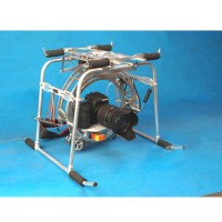 3-Axis Pan/Tilt Camera Mount PTZ Gyro-Stabilized for RJX 260JR260 Helicopter FPV Aerial photography