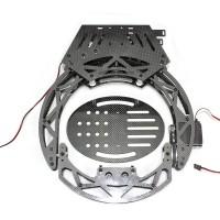 Booy BY2 Series Carbon Fiber 2-Axis Pan/Tilt Camera Mount PTZ Belt Drive Version