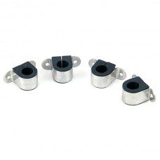 4pcs Tube Fastener Adapter Aluminium&Rubber Fixture for Helicopter