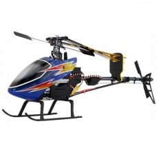 TiTan 450 Pro RC Helicopter Metal RTF 6CH Align TRex 3D Fly with Aluminum Case