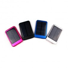 5000mAh Solar Mobile Power Bank Battery for Iphone Ipad Mp3/4 CellPhone