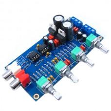 NE5532 10 Times Pre-amp Volume Control Amplifier Treble Mediant Bass Amp Board