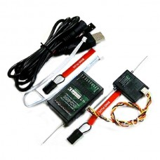CM-921 2.4G 9-Channel Full Range DSM2 Receiver Compatible with JR SPEKTRUM