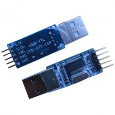 PL2303HX USB to TTL Converter Module Download Cable 5V & 3.3V Output for STC Single Chip