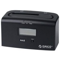 ORICO 8618NAS 1bay Gigabit Ethernet NAS Docking Station 2.5 3.5 SATA II USB3.0