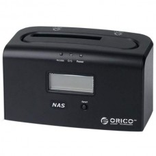 ORICO 8618NAS 1bay Gigabit Ethernet NAS Docking Station 2.5 3.5 SATA II USB3.0