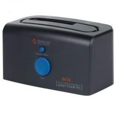 8618SUS3 ORICO USB3.0 SATA Hard Disk HDD Docking Station External 3.5&2.5 eSATA-Black