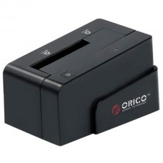 "ORICO 6618SUS USB2.0 2.5""&3.5"" 3TB e-SATA HDD Hard Drive Docking Station-Black"