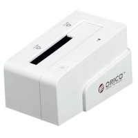 "ORICO 6618SUS USB2.0 2.5""&3.5"" 3TB e-SATA HDD Hard Drive Docking Station-White"