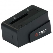 "ORICO 6618US USB2.0 2.5""&3.5"" 3TB SATA HDD Hard Drive Docking Station-Black"